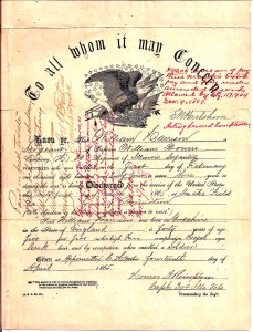 William Harrison Civil War Promotion